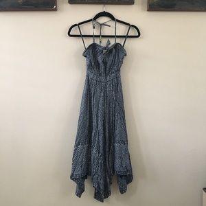 GAP retro pin up dress with handkerchief hem